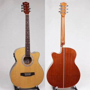 40 Inch Sapele Gloss Acoustic Guita