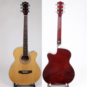 40 Inch Spruce Linden Acoustic Guitar
