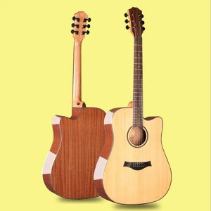 41 Inch Solid Top Acoustic Guitar w