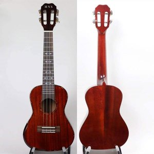 All Solid Mahogany Ukulele with Gloss Finish