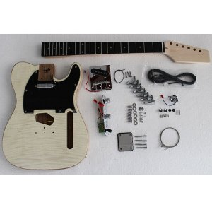 DIY Flamed Maple Electric Guitar Kits